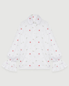 Maje_Chemise_Blanche_Broderie_Face